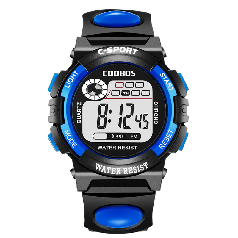 Children Wrist Watch For Boys Sport Digital Eelegant Baby Girls Watches LED Silicone Waterproof Kids Clock 2019 Relogio Infantil