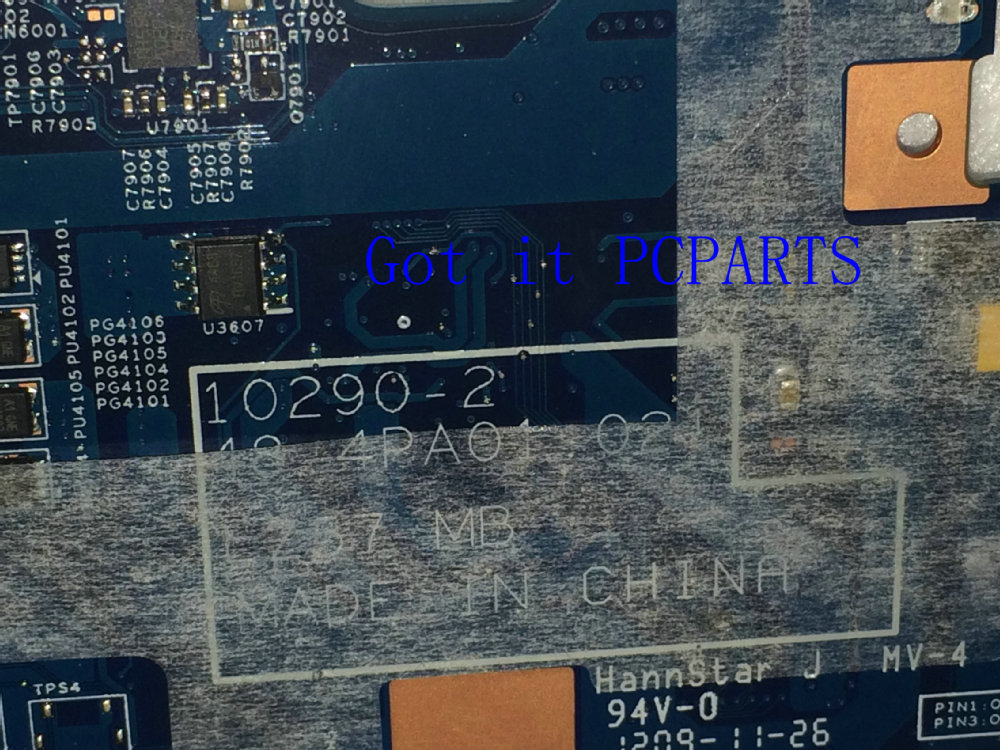 FREE SHIPPING New Laptop motherboard 48.4PA01.021 LZ57 MB suitable for Lenovo V570 notebook pc