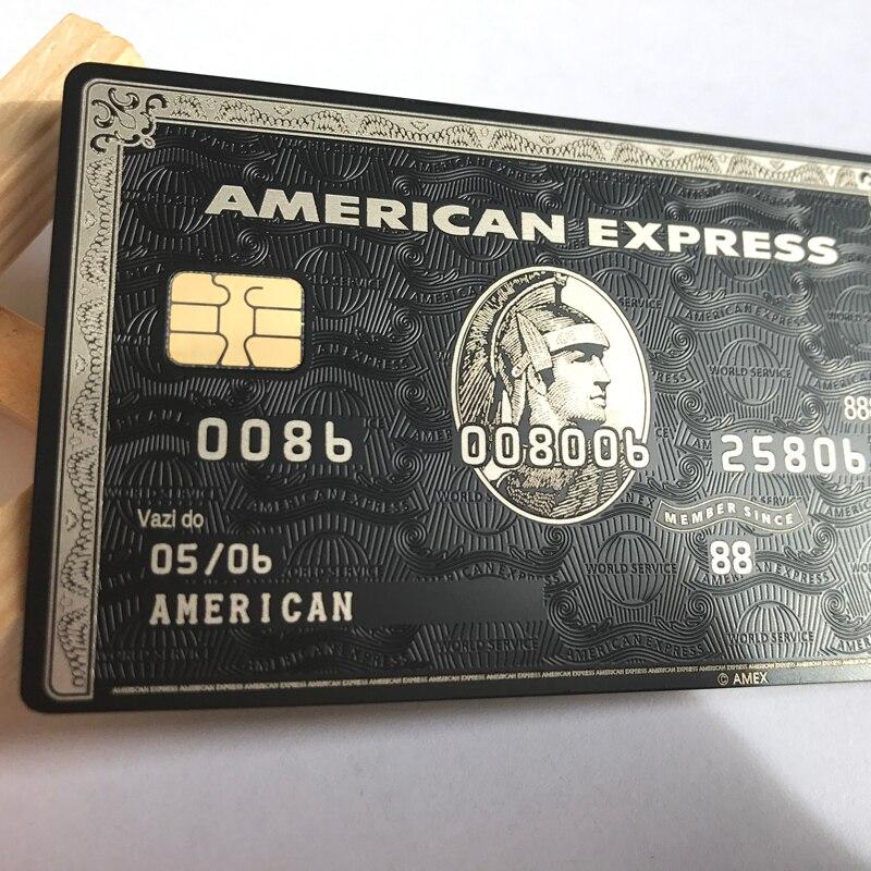 Carte American Express En Metal.American Express Noir Centurion Carte Bancaire Personnaliser Vous Meme Grand Cadeau Livraison Gratuite