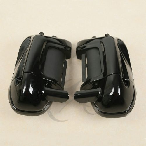 Lower Vented Leg Fairing + Speaker Box Pods For Harley Road Street Electra Glide Touring 83-13 12 11 motorcycle