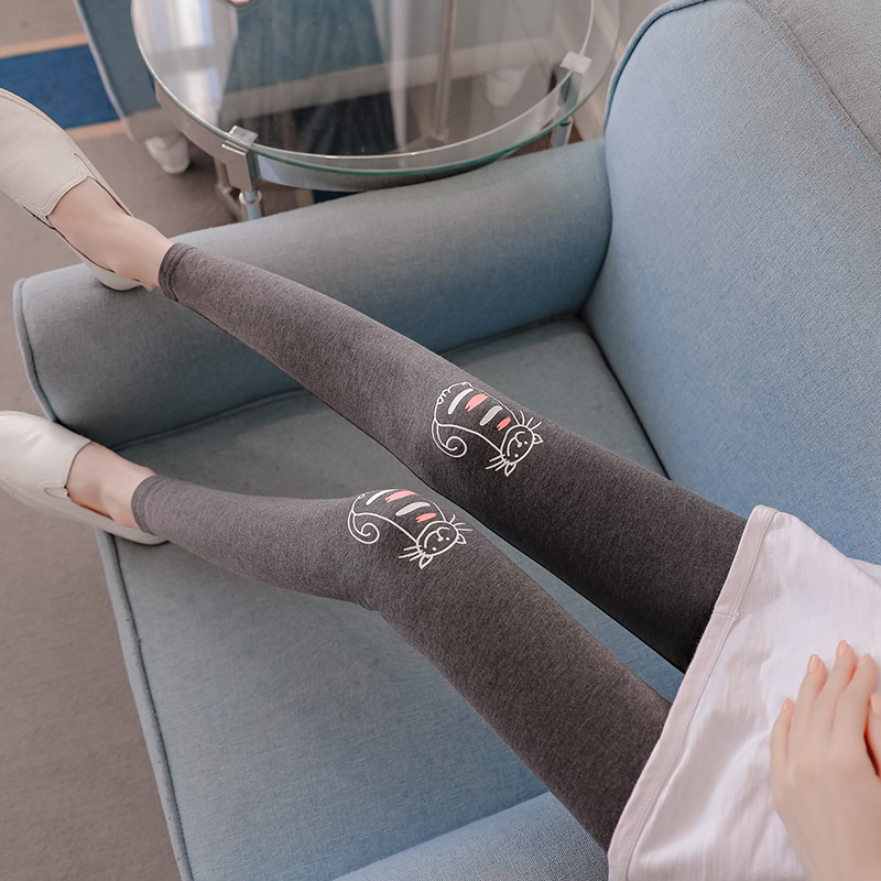 959bb8711c695 Aliexpress.com : Buy 2018 New Cotton Women Pregnant Leggings Adjustable  High Elasticity Maternity trousers Pregnant Pants for spring autumn from  Reliable ...