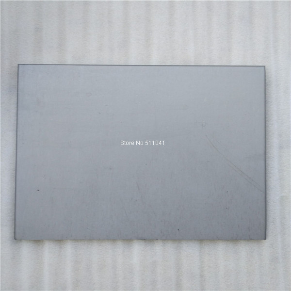 grade 5 Titanium sheet/ GR5 titanium plates ,1.0mm thickness,10pcs,free shipping цены