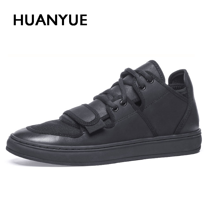 Dashing Mens Comfortable High Quality Breathable Casual Shoes Pure Color Fashion Lightweight For Male Boots Sneaker Sapatos Masculino Men's Boots