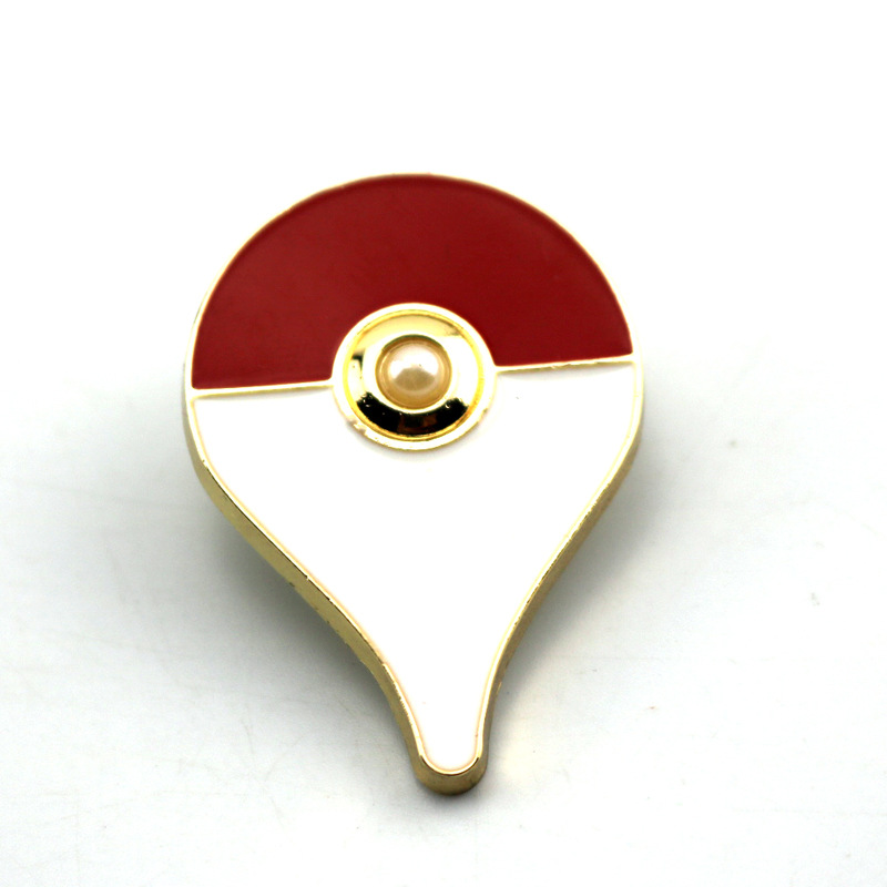 Pokemon Pikachu Brooch Alloy Gothic Long Player Ring Fans Collection Drop Ship