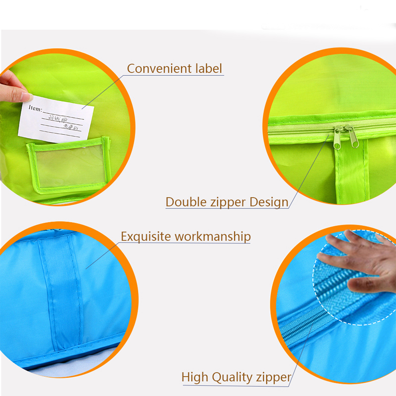 HOMEBEGIN сумки для хранения стеганых одеял Оксфорд багажные сумки Домашний Органайзер для хранения моющийся шкаф для хранения одежды сумки для хранения S-L