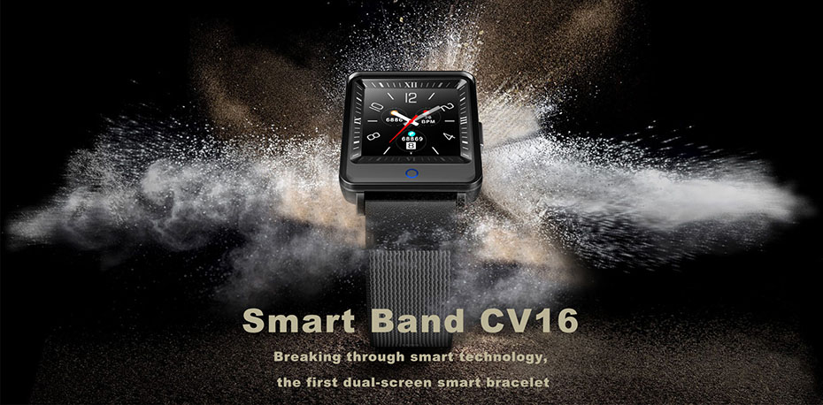 COLMI Dual Screen Smart Watch Men Blood Pressure Clock IP67 Waterproof Smartwatch Activity Fitness Tracker For android IOS phone 1