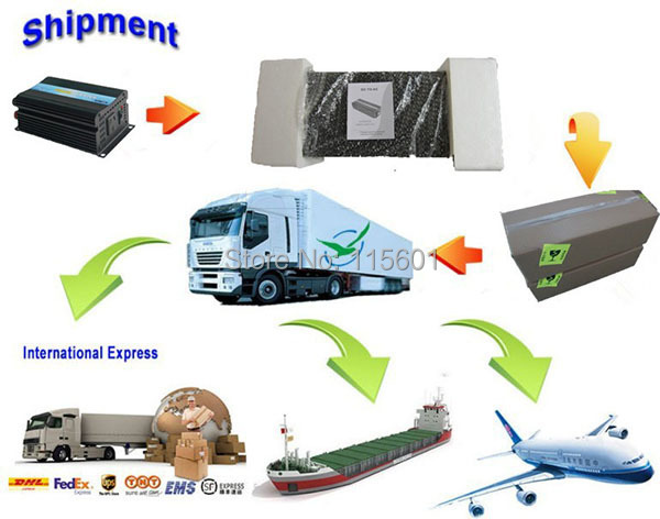 shipping way of inverter