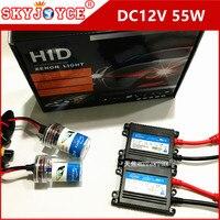 20X DHL DC 55 W xenon hid H7 9005 H11 xenon kit 55 W H4 hid ampoule phare H3 9006 hid kit 3000 K-12000 K H1 5000 K xenon hid ballast