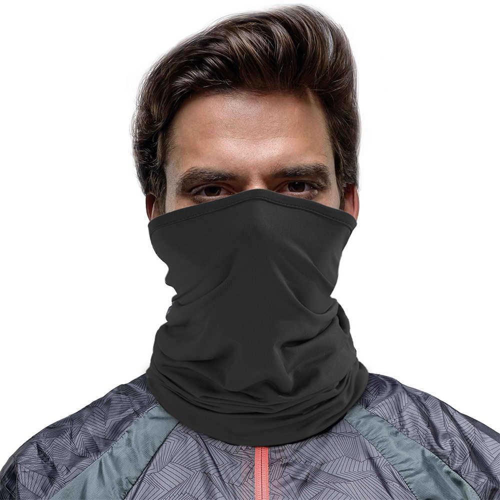 На открытом воздухе спортивная бандана тактическая маска труба для рыбалки Велоспорт тактическая Пеший Туризм крышка шеи гетры Байкерская бандана шарф уход за кожей лица щит Для мужчин