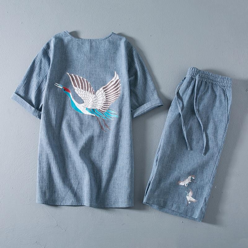 Men Casual shorts 2018 Summer Casual Jeans Shorts Men Denim Trousers Fashion Multi pocket Short big