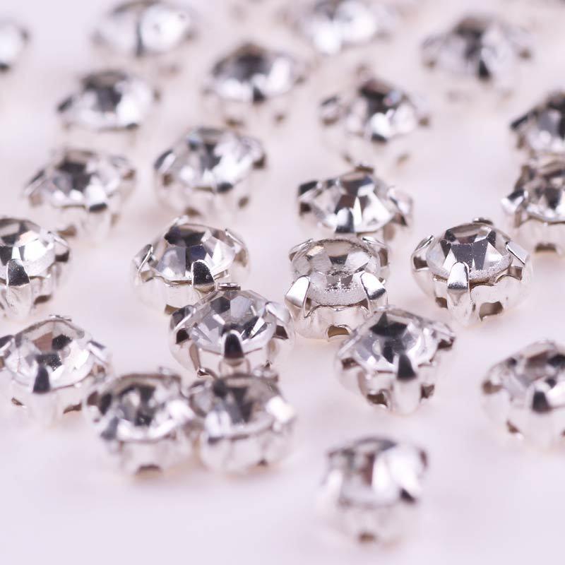 Rect/ángulo 50 Piezas Mezcle Formas De Color Coser En Cristal De Cristal De Diamantes De Imitaci/ón con Ajuste De Garra De Oro Piedras De Diamantes Strass DIY Vestido De Novia Decoraci/ón