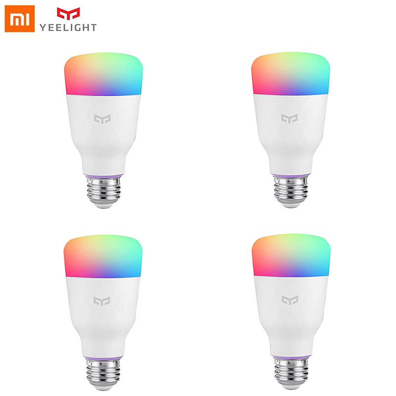 Yeelight light Bulb LED colorful 10W E27 xiaomi smart home RGB wifi control for mijia phone