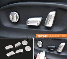 For Volkswagen Atlas Teramont 2017-18 Matt Seat Adjust Button Cover 6pcs Trim Car-styling