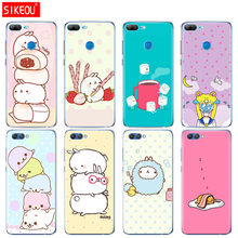 Silicone Cover phone Case for Huawei Honor 10 V10 3c 4C 5c 5x 4A 6A 6C pro 6X 7X 6 7 8 9 LITE The Cutest Kawaii rabbits(China)
