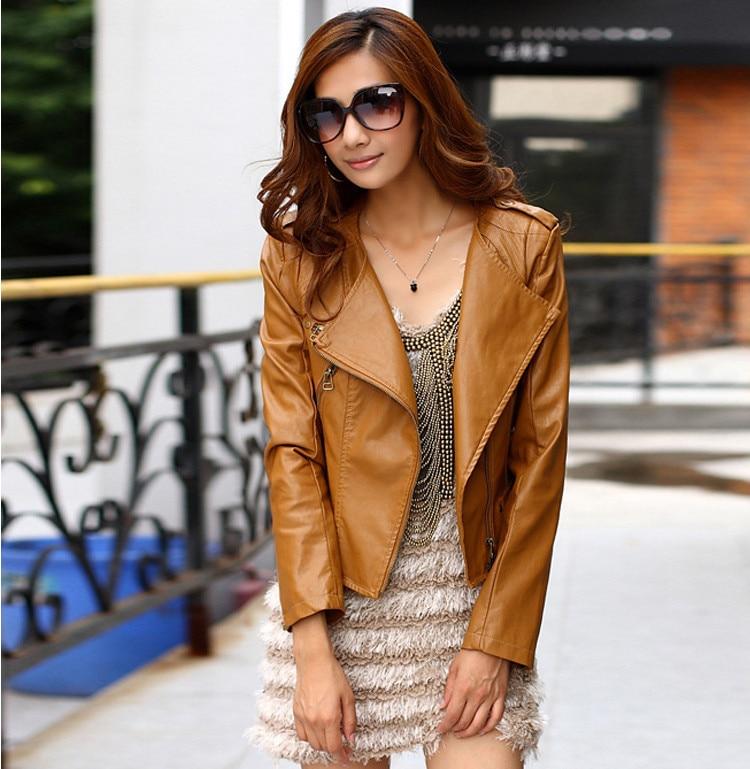 Aliexpress.com : Buy new arrival women Leather jacket 2014 autumn ...