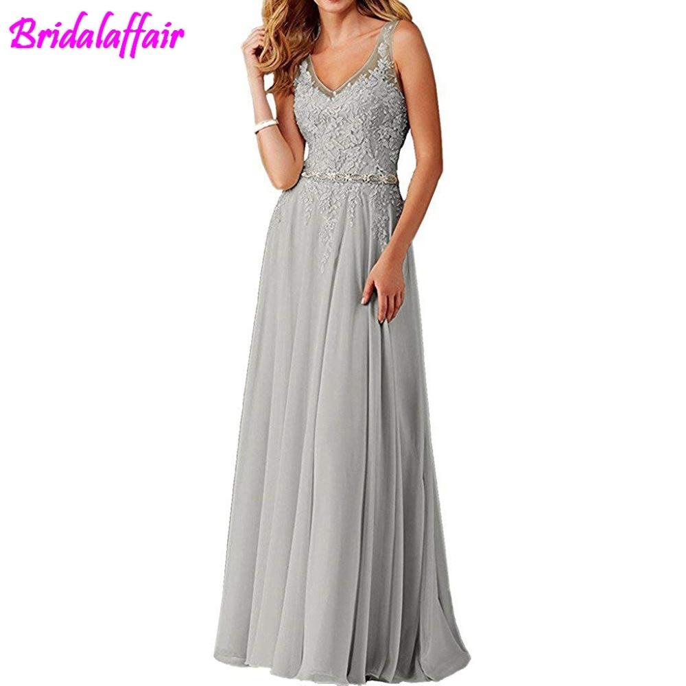 Femmes col en V Appliques robe de bal longue perlée robes de soirée élégantes femmes robes formelles robe de soirée longue - 4