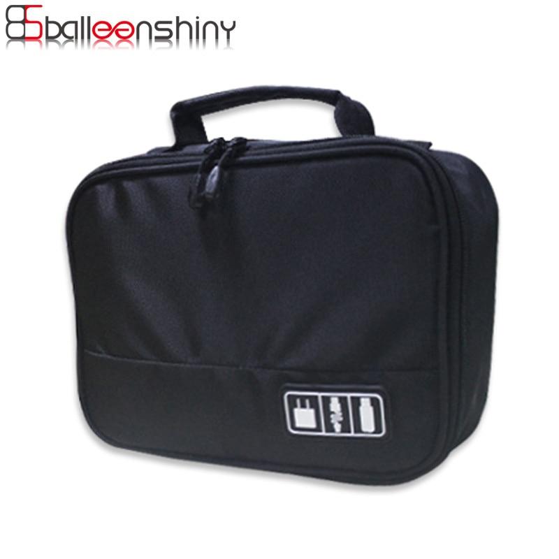 BalleenShiny Digital Storage Bag font b Gadget b font Devices font b USB b font Cable