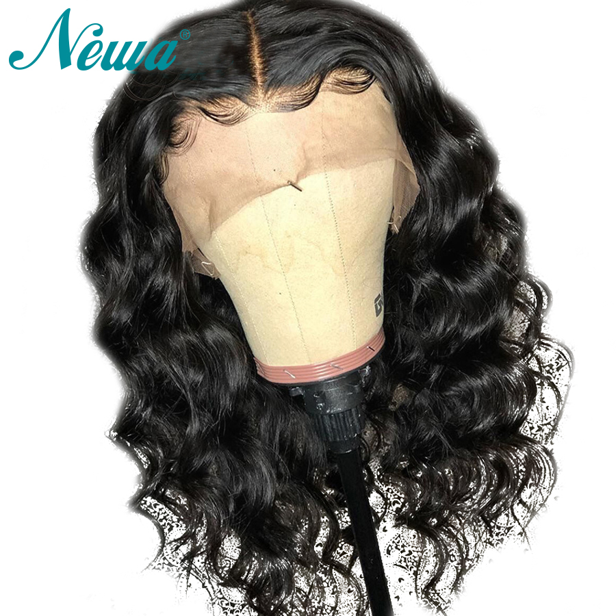 Lace Front Human Hair Wigs With Baby Hair Loose Deep Remy Hair Wigs Brailian Glueless Lace
