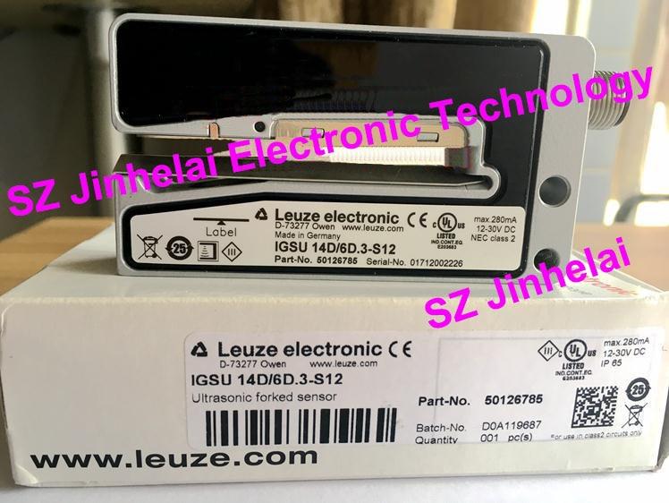 IGSU 14D/6D.3-S12 New and original Germany LEUZE Ultrasonic forked sensor ft328 3 4p new and original germany leuze photoelectric switch