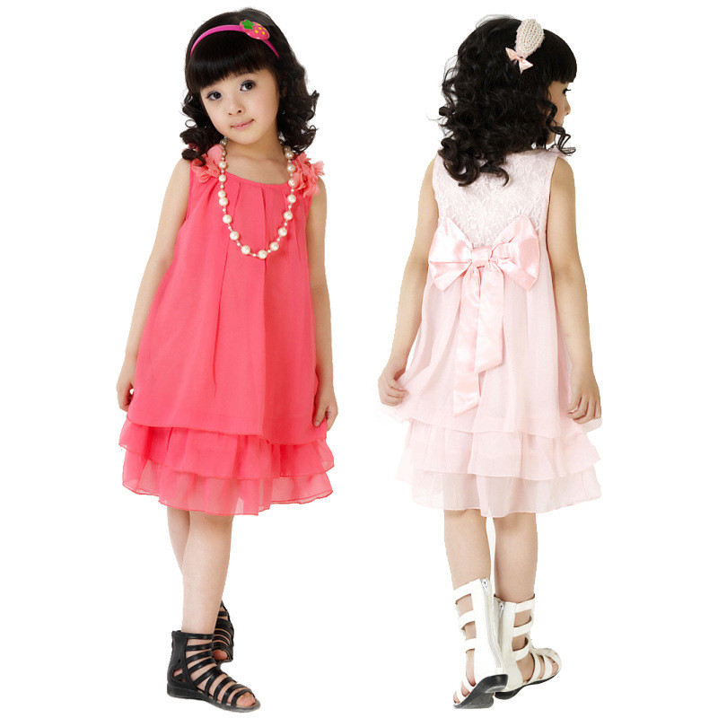 Baby Summer Dress Girl Party Toddler Sleeveless Next Kids Clothes Tutu Casual Girls Dresses Wedding Vestidos Children Clothing uoipae girl party dress 2018 casual