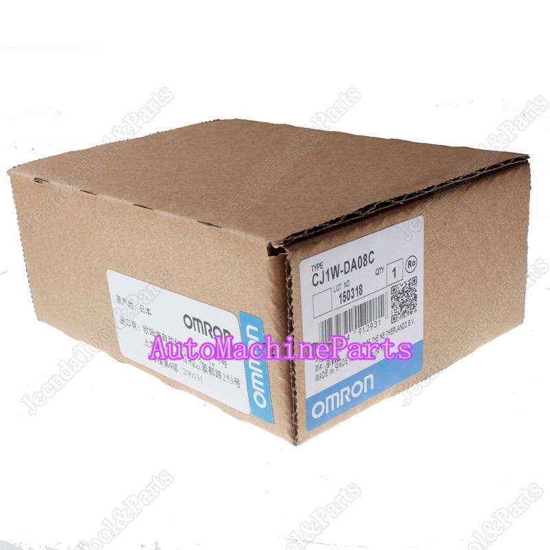 New In Box For Omron Input Unit CJ1W-DA08C Programmable Controller PLC Module dhl ems om ron new plc input unit c200h bc051 v2 c200hbc051v2 e1
