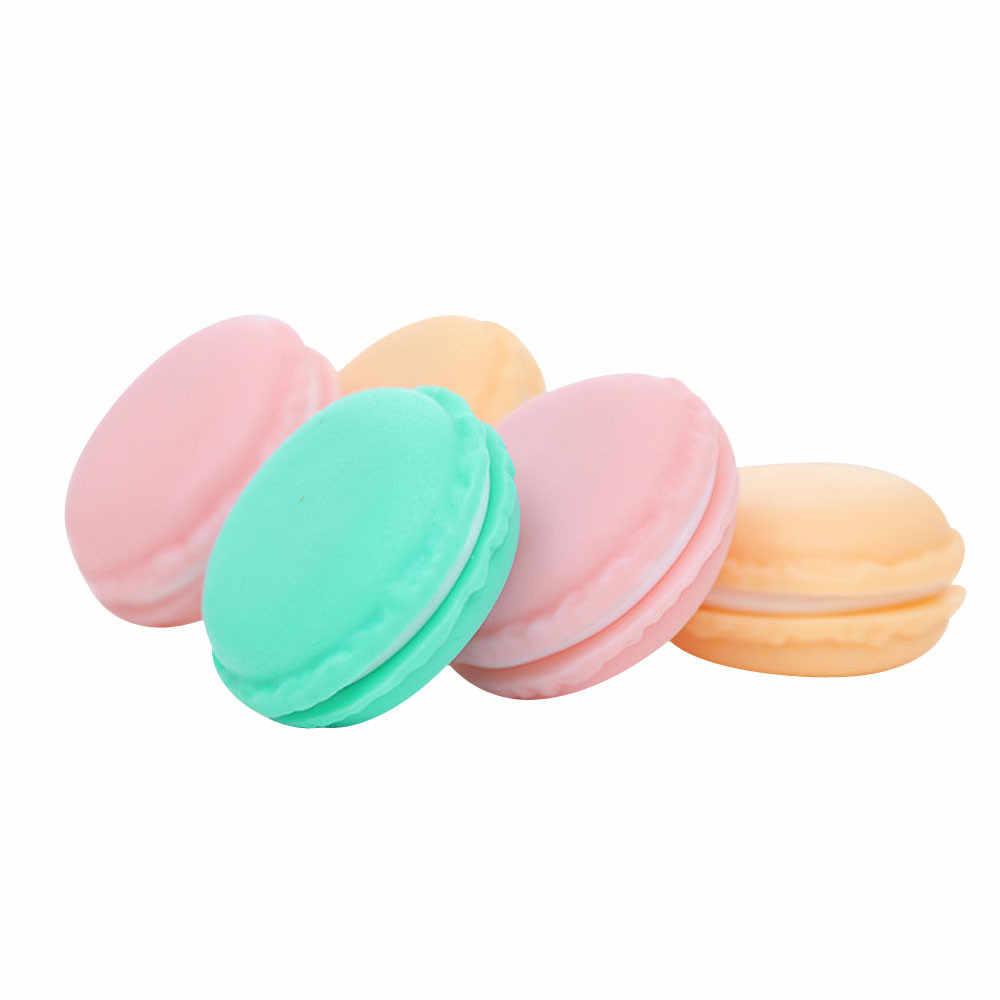 2019 Brand New High Quality 4 x 2cm Mini Macarons Organizer Storage Box Case Carrying Pouch Color Random