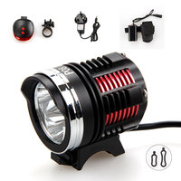 6000LM 3xCREE XM L2 LED Head Front Cycling Bicycle Lamp Bike Light With Battery Rear Light