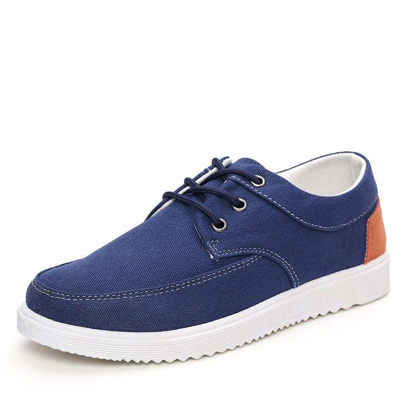 De Chaussures Blue light Tissu Ipccm Toile Conseil Édition gray Saisons Dark Printemps Sport Respirant Quatre Coréen Hommes Blue wZIfa