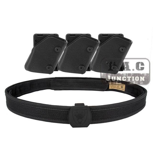 IPSC étui USPSA IDPA compétition haute vitesse tir intérieur et extérieur ceinture w/3x4/5x tirage rapide pistolet Magazine pochette Mag