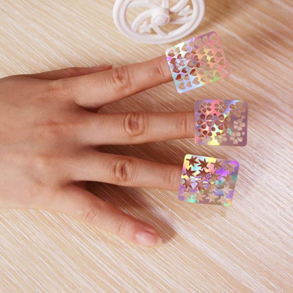 вам фото квадратных ногтей с наклейками из алиэкспресс один