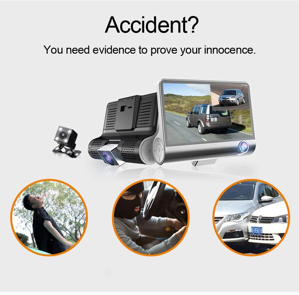 Vehicle Camera Generous E-ace Car Rear View Camara 4 Led Auto Reversing Parking Camera Night Vision Waterproof Backup Camera Car Electronics
