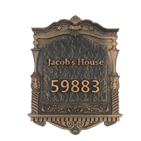 Custom made Apartment Villa door plate House Number European style Door Sign,Home house Name with Number Any Letters number
