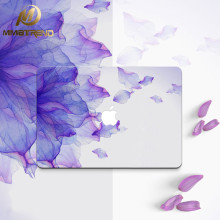 Mimiatrend Purple Petals Laptop Decal Sticker Case For Apple Macbook Air Pro 11 13 15 Inch Guard Protective Cover Skin Wholesale