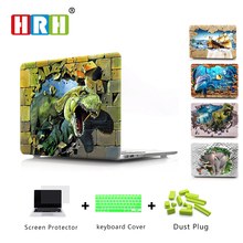 3D Fashion Pattern Laptop Body Shell Protective Hard Case for Macbook New Pro 13 Retina 15 w/without Touch Bar Release on 2016