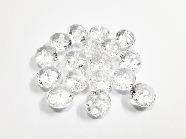 Wholesale ! 12mm 800pcs lot Clear Acrylic Small Rondelle Beads-in ... ee40fa3f13a1