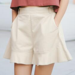 Contracted and comfortable slacks   shorts   cultivate one's morality autumn female trousers high waist xp4