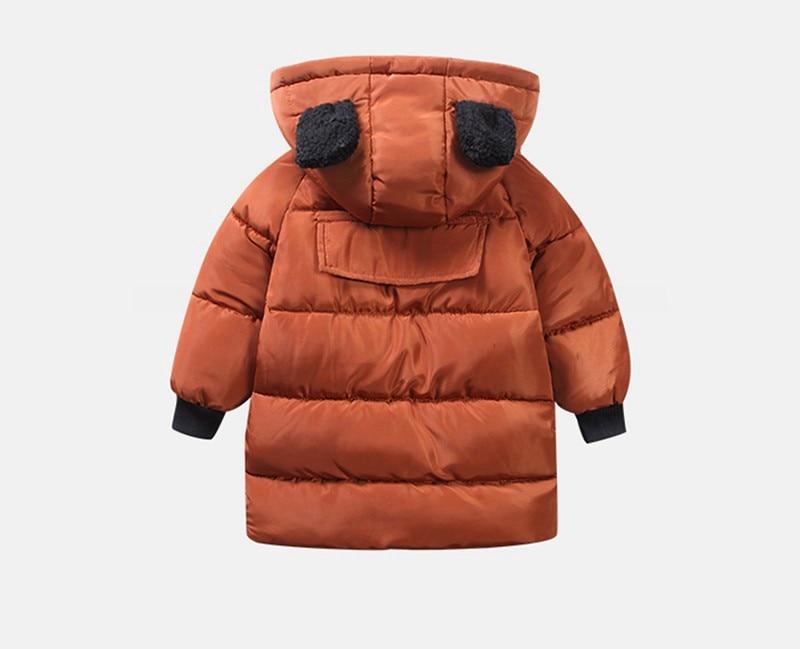 CROAL CHERIE Girls Jackets Kids Boys Coat Children Winter Outerwear & Coats Casual Baby Girls Clothes Autumn Winter Parkas (10)