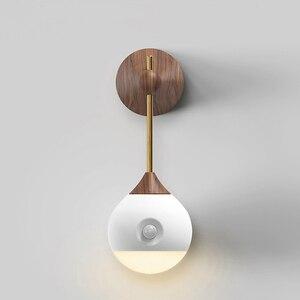 Image 3 - [HOT] oryginalna Sothing Sunny inteligentna inteligentna ludzka indukcja ciała LED light akumulator sterowanie głosem ręczne