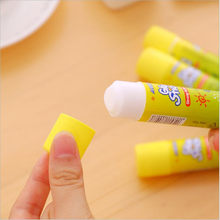 1Pcs/lot 9.1*2.1cm Korea Stationery Solid Glue Sticks 15g Secondary School Students DIY Solid Plastic Learning Office Supplies(China)