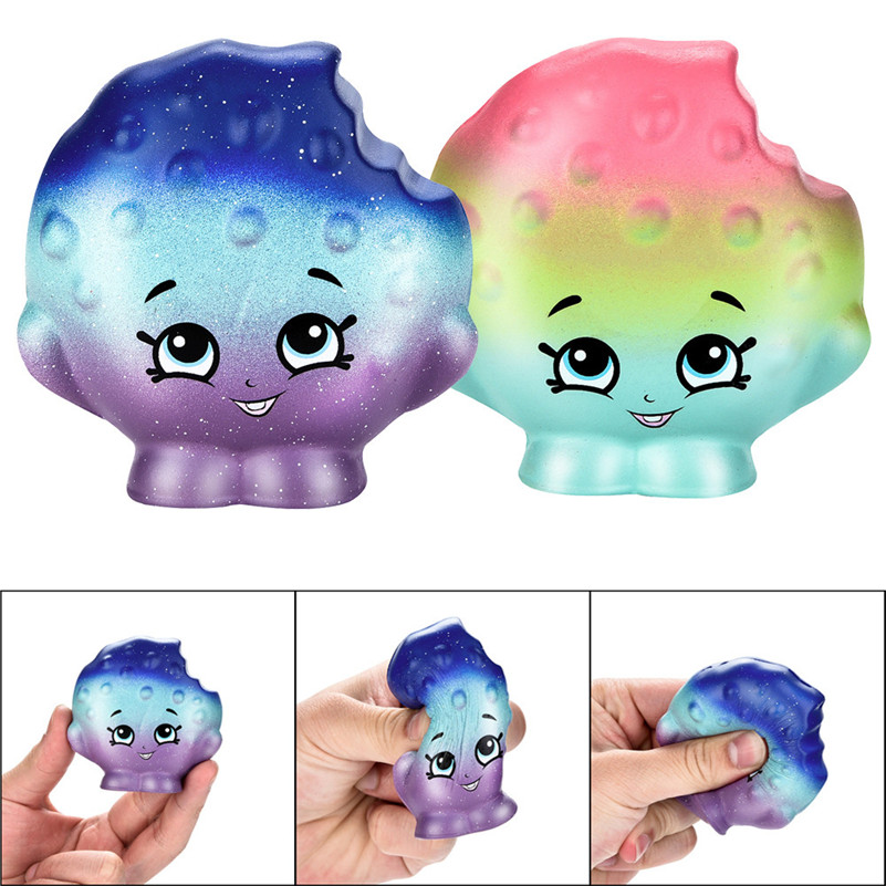 1pc  7cm Squishy Cartoon Biscuits Slow Rising Scented Squeeze Toy Collection Cure Gift  For Children A1