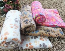 thick coral velvet blanket for your lovely dog and cat, pet warm sleeping beds, doggie lounge