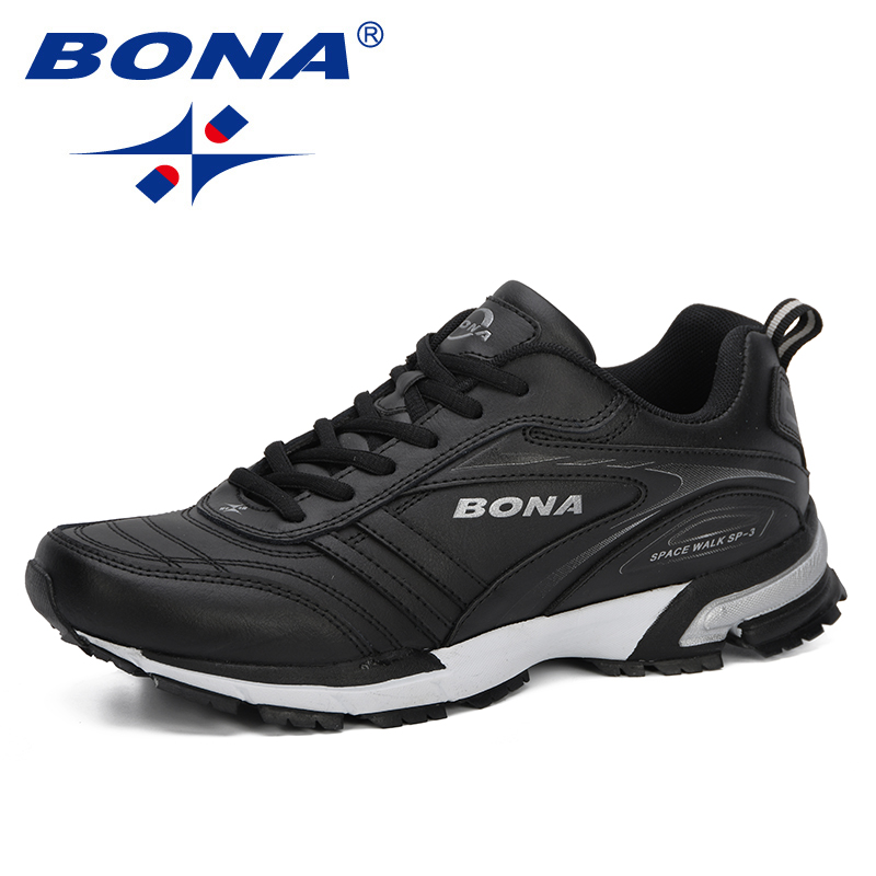 BONA 2019 New Arrival Men Jogging Shoes Outdoor Men Running Shoes Brand Sneakers For Male Shoes