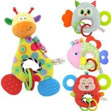 """Обезьянка """","""" Жираф """"мягкая плюшевая игрушка-животное чучело кукла для новорожденных, для детей, младенцев, новорожденных игрушка"""