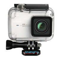 Top Deals ShelngKa Diving Protective Housing Waterproof Case 40m for Xiaoyi 4K Xiaomi II / Yi Lite Action Camera with Bracket