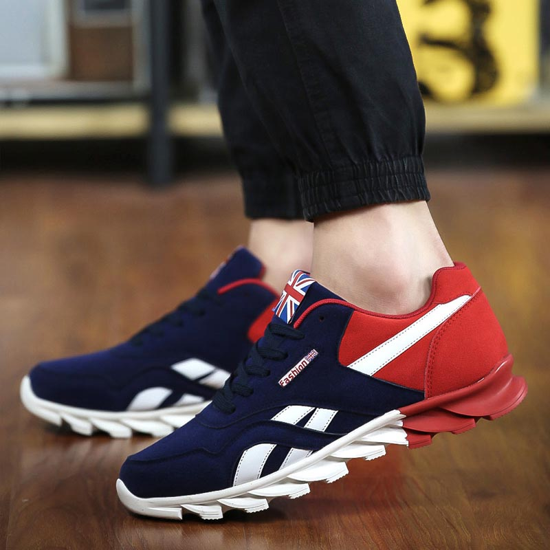 online retailer best website low cost US $23.39 10% OFF|Hot Sale Men Fashion Sport Casual Shoes Fashion 2019  Trainers For Men Male Brand Shoes-in Men's Casual Shoes from Shoes on ...