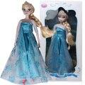 Disney Игрушки Новое Прибытие Замороженные Игрушки Для Девочек Детские Игрушки Подарок Эльза Принцесса Девушки Пластиковые Классические Игрушки Подарки