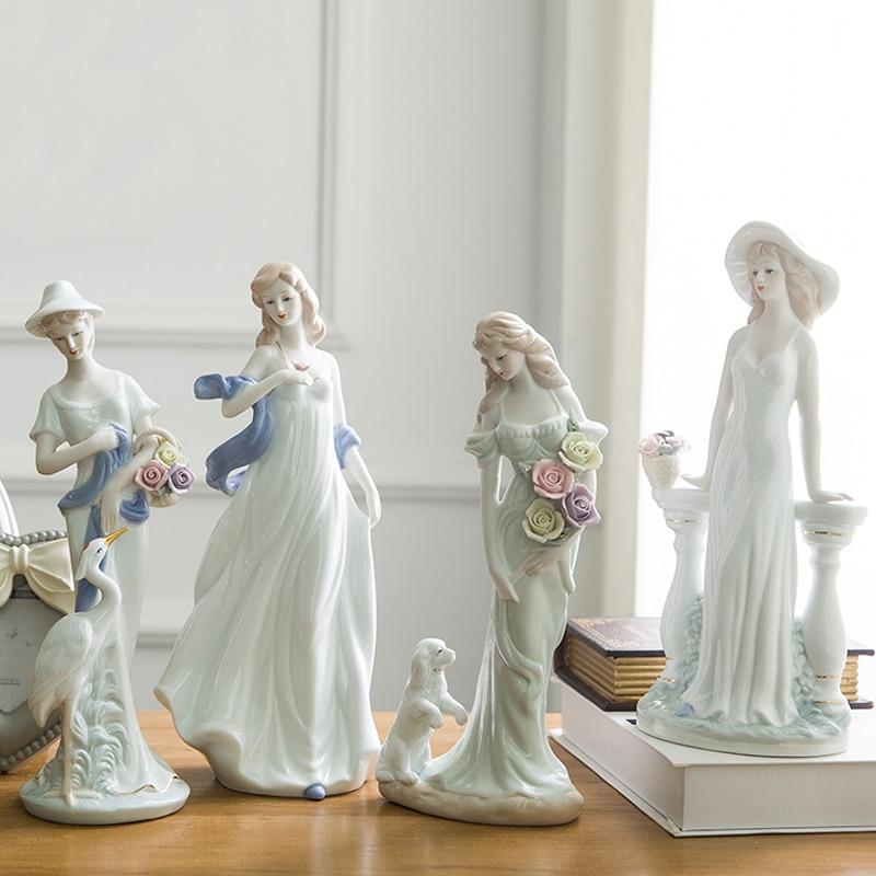 Zanat qeramike të shkallës së lartë bashkëkohore të engjëllit - Dekor në shtëpi - Foto 5