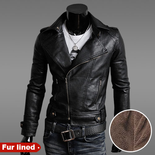 High fashion leather jackets men 5