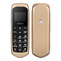 Long CZ J8 bluetooth Dialer mini mobile Phone 0.66 inch with Hands Free Support FM Radio, Micro SIM Card, GSM Network