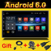 Rhythm 2 Din Android 6 0 Car Radio Player Gps Universal With Navigator Free Map Update